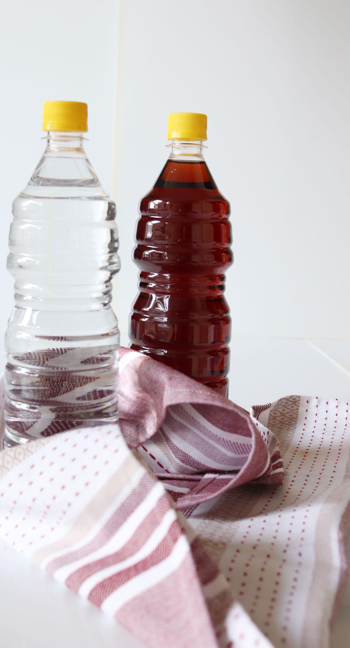 red & white vinegar